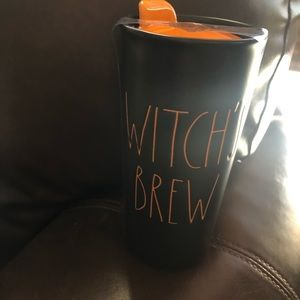 Rae Dunn Witch's Brew Tumbler Halloween NEW